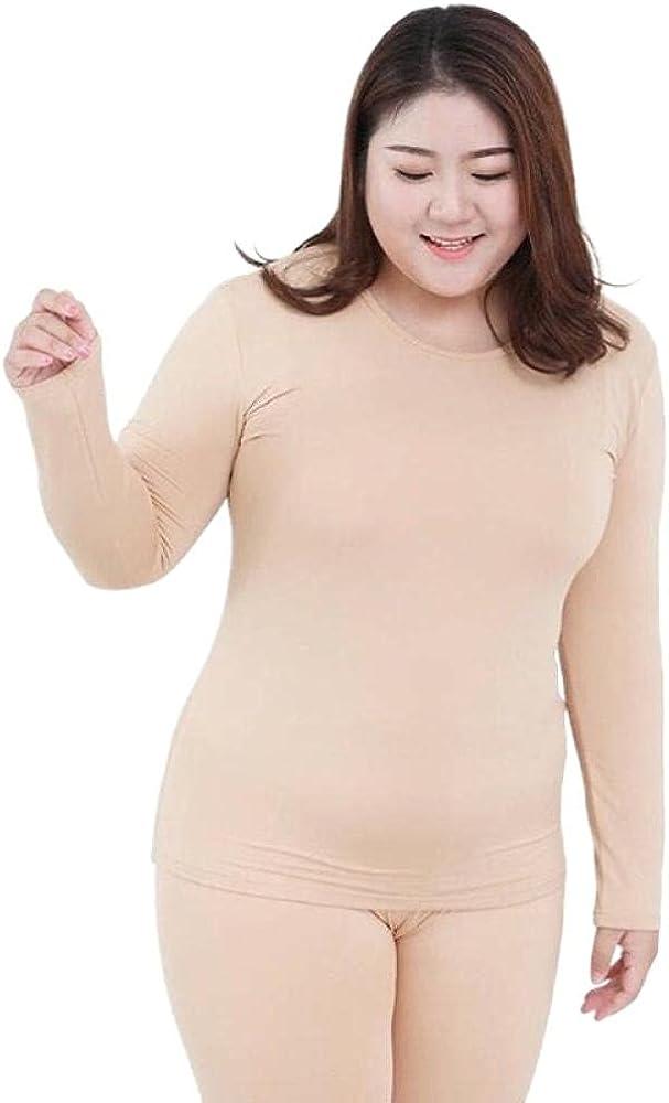 Long Sleeve Women Plus Size Thermal Long Autumn Women Long Solid Warm Women Thermal Underwear Wear