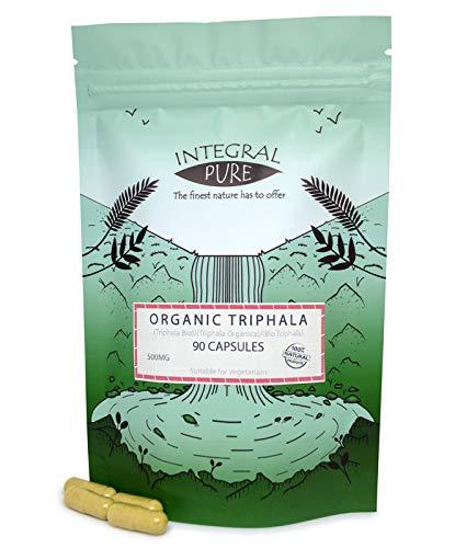Triphala (Veggie) Capsules | Organic Certified | 500mg (30)