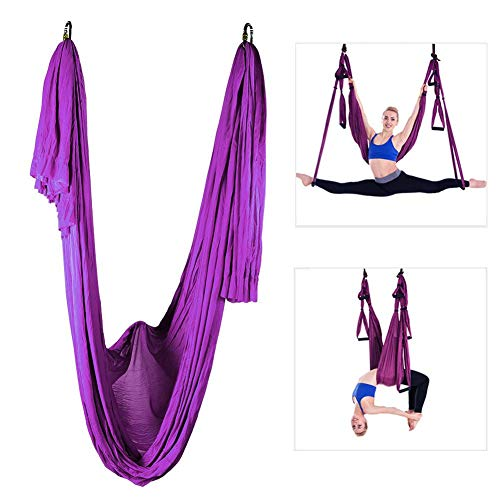 Great Price! MAGT Yoga Swing, Durable Yoga Swing Sling Hammock Pilates Aerial Anti-Gravity Inversion...
