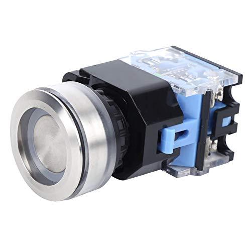 Componentes industriales AC220V suministra interruptor de botón con plásticos de ingeniería(Reset, pink)