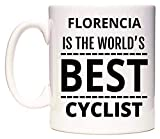 FLORENCIA Is The World's BEST Cyclist Taza por WeDoMugs
