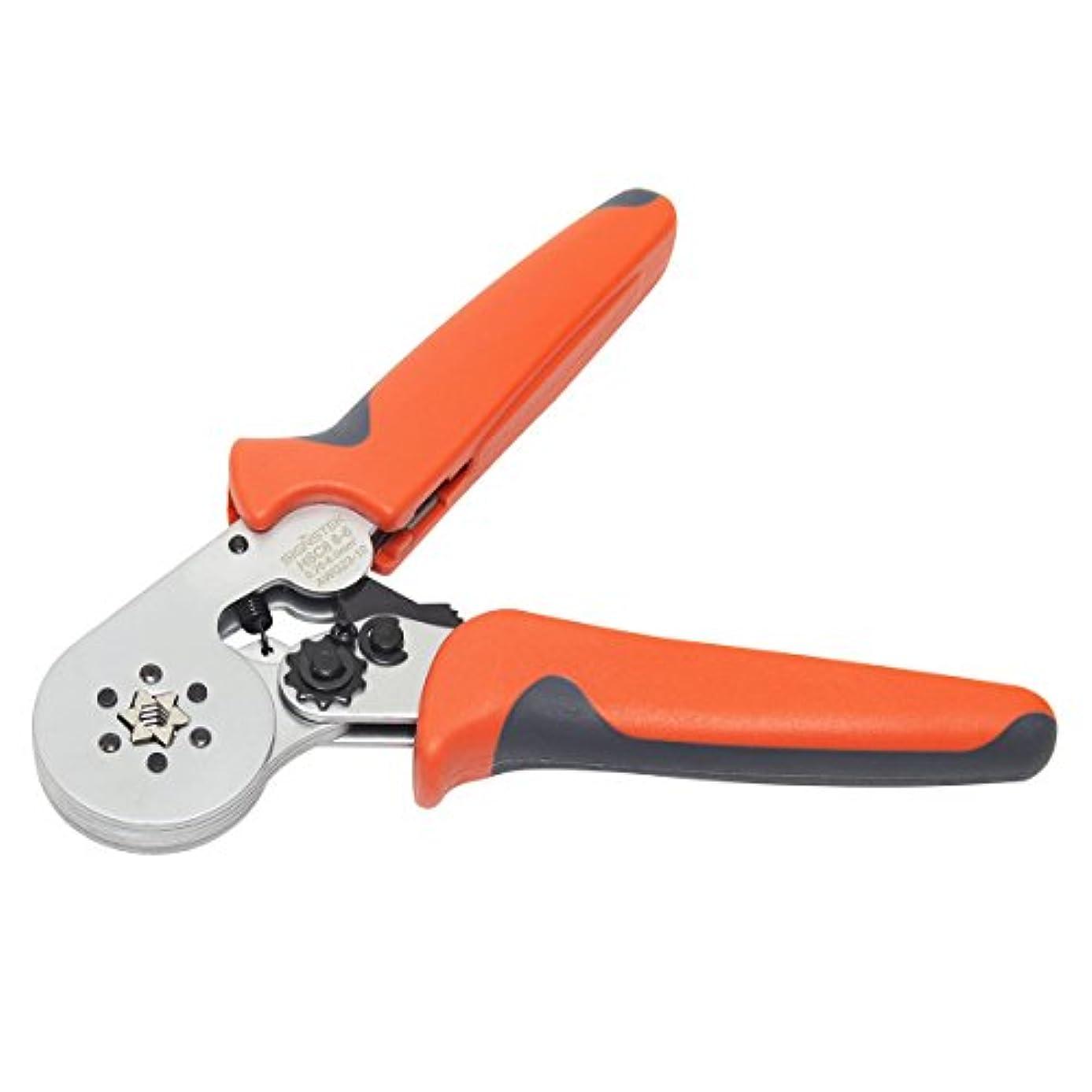 Signstek HSC8 6-6 Self-adjustable Wire Crimper Plier Crimping Tools for 0.25-6.0mm2 Cable End-sleeves
