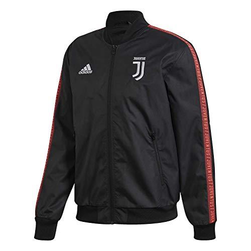 adidas Juve Anthem Jkt Giacca da uomo, Uomo, Giacca, DX9210_XL, nero/Turbo, XL