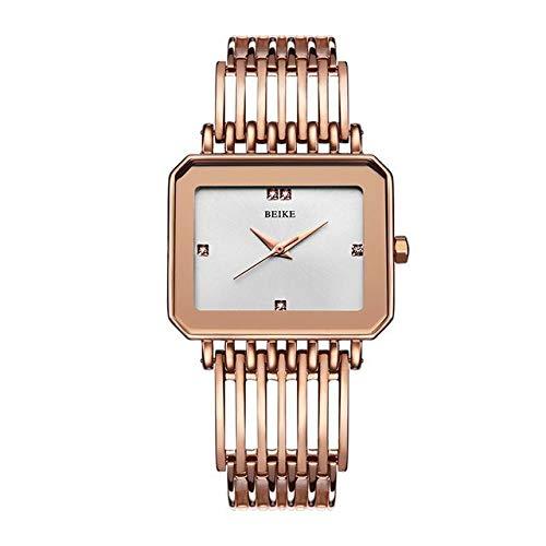 TCEPFS Reloj de Mujer Reloj de Pulsera de Brazalete de Oro Rosa...