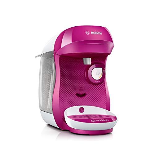 Bosch TAS1001 Tassimo Happy Kapselmaschine, über 70 Getränke, vollautomatisch, geeignet für alle Tassen, kompakte Größe, 1400 W, lila