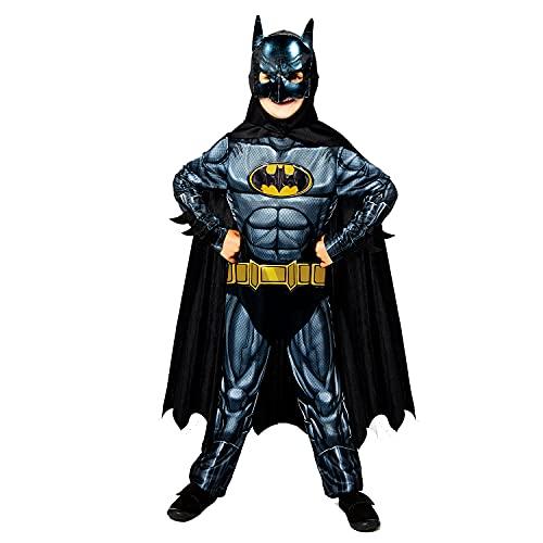Amscan Official Warner Bros Batman Sustainable Fancy Dress Costume (3-4...