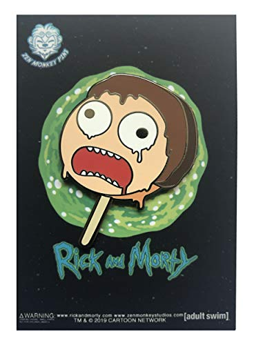 Popsicle Morty - 1.75 inch collectible pin