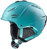Uvex Kask narciarski dla dorosłych P1us 2.0, petrol mat, 59-62 cm