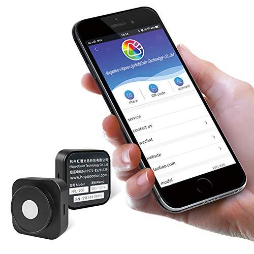 Hopoocolor HPL200P 400-700nm Spektrometer PPFD Meter umol/m2/s 0.01-4000 für Licht Wachsen