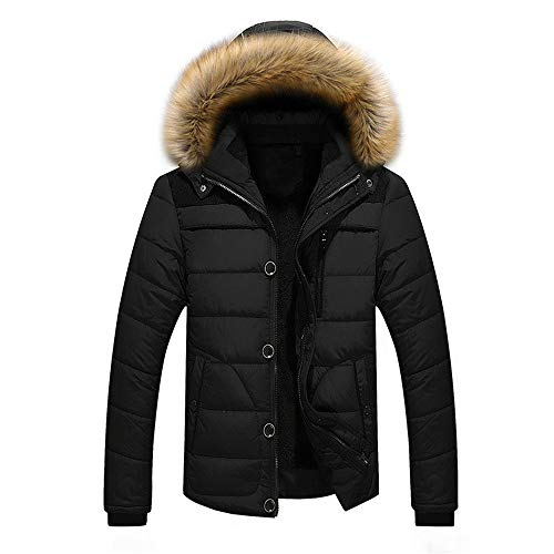 Buby Herren Jacke Steppjacke Winterjacke Herren Stepp-Jacke in Daunenoptik tolle Übergangs gefüttert mit Stehkragen Hooded Puffer Outdoor Männer Hoody Sweater Hoodies Sweatshirt Langarm Tops Blouse