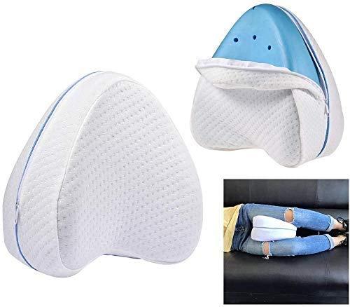 HT 2X Cuscino per Dormire Pillow Riposa Gambe Schiena Memory Foam Supporto Ortopedico