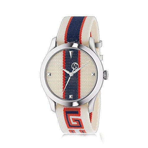 Reloj Gucci G-Timeless 38 mm Caja de Acero CINT Tela YA1264071