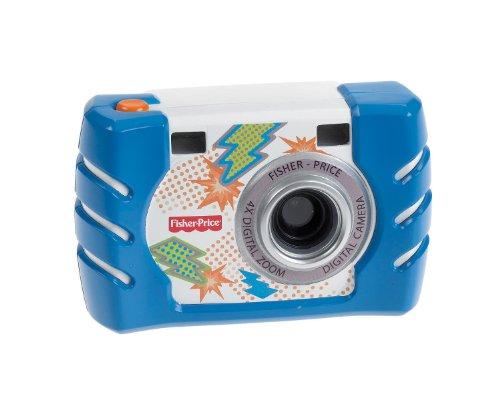 Fisher Price - W1459 - Jeu Electronique Premier Age - Nouvel Appareil Photo - Bleu