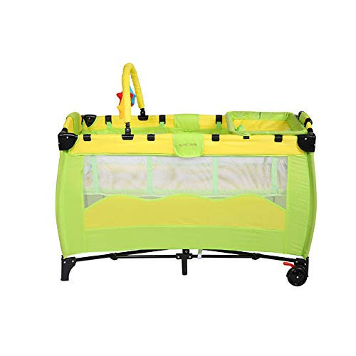 JYXZ Reisebett für Baby Kinder, Baby vor Mücken schützen, zusammenklappbares Kinderbett, Kinderwiege-Laufstall