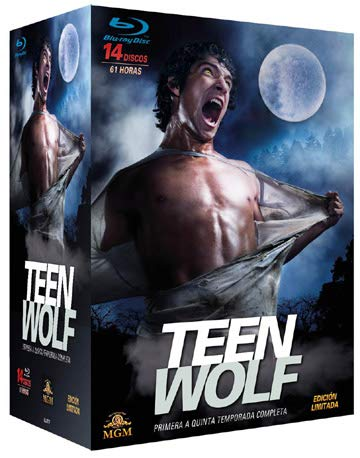 Teen Wolf - Complete Series 1-5 - 14-Disc Boxset ( ) [ Spanische Import ] (Blu-Ray)