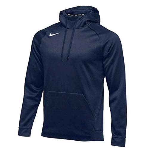 Nike Mens Therma Hoodie Pullover Navy Size Medium