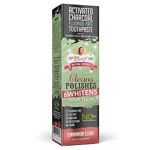 My Magic Mud Aktivkohle Zahncreme - Geschmacksrichtung Cinnamon/Zimt, 113 g
