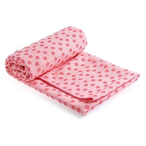 Jinxuny Non Slip Yoga Handdoek Microvezel Yoga Mat Cover Super Absorbent Yoga Mat Handdoek voor Hot Yoga Pilates en Fitness met Anti Slip Bodem Poeder
