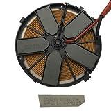 Bobina Inducción Bosch PXV875DC1E/06 17 cm 185463, 9001034843, 071940 Despiece de vitroverámica Nueva con Cristal Roto.