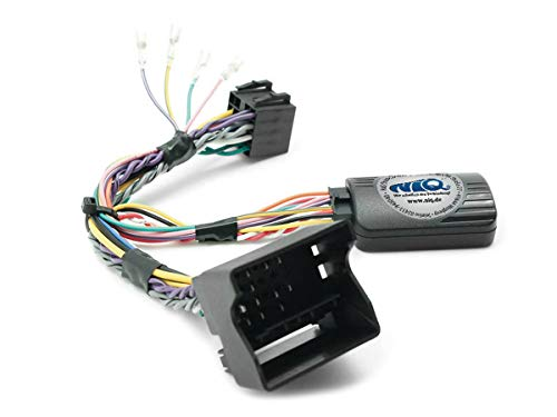 NIQ Adaptador CAN-Bus para mando a distancia en el volante adecuado para radios de coche Kenwood, compatible con Mercedes-Benz Clase A, Clase B, Clase C, CLC | CLK | ML | Clase R | SL | SLK | Sprinter | Viano | Vito.