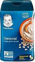 Gerber ガーバー オートミール シリアル 227g Oatmeal Cereal -- 8 oz [並行輸入品]