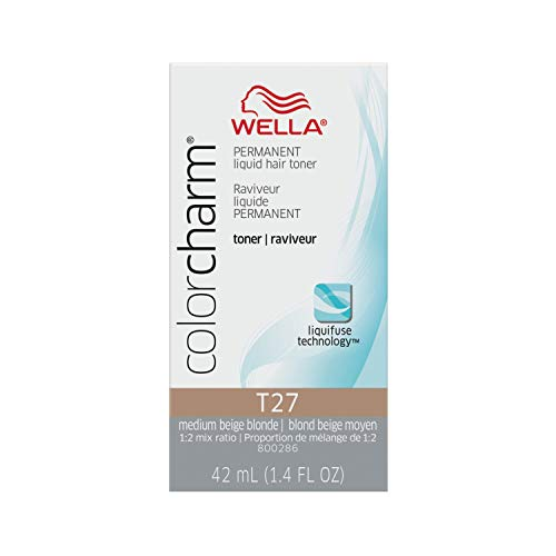 WELLA Color Charm Permanent Liquid Hair Toners for Toning