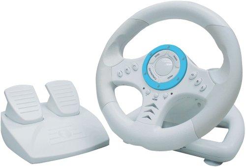 Nintendo Wii - TopDrive Lenkrad mit Pedalen
