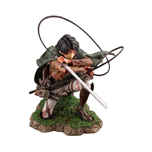 18Cm Attack On Titan Figura Rival Ackerman Figura De Acción Paquete Ver.Levi PVC Figura De Acción Rivaille Colección Modelo Juguetes