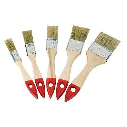 Flachpinsel Set 5-tlg. - 15 mm, 20 mm, 25 mm, 35 mm, 50 mm