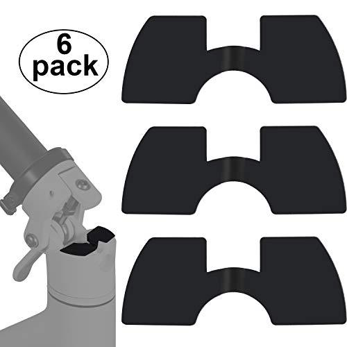 Amortiguadores de Vibración de Goma de 6 Piezas Compatible con Xiaomi M365 Evite la Amortiguación de la Pieza de Recambio del Scooter Eléctrico de Goma Accesorio