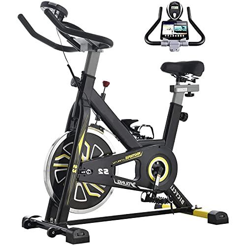 WYLX Bicicleta Estática De Interio Bicicleta Drive Magnético De Salud Bicicleta De Spinning,De Ejercicio Pérdida De Peso Máquina De Ejercicios En Casa Cómoda