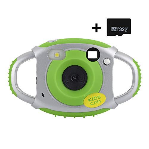 Great Deal! Funkprofi Kids Camera, Kids Digital Video Camera 1080P HD Recorder Camcorder with 32GB T...
