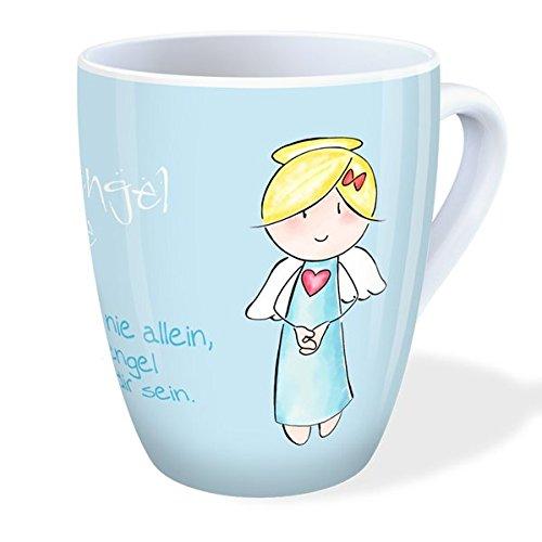 Engel Tasse: Schutzengel-Tasse - Glaub mir, du bist nie allein, dein ...