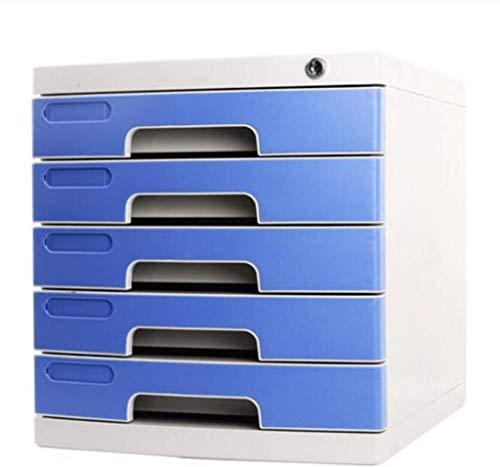 Organizador para el Escritorio Escritorio cajón archivador con la Cerradura, Conveniente y Oficina de Datos confidenciales Caja de Almacenamiento con la Cerradura