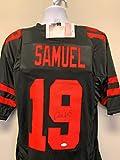 Deebo Samuel San Fransico 49ers Signed Autograph Custom Jersey Black JSA Witnessed Certified