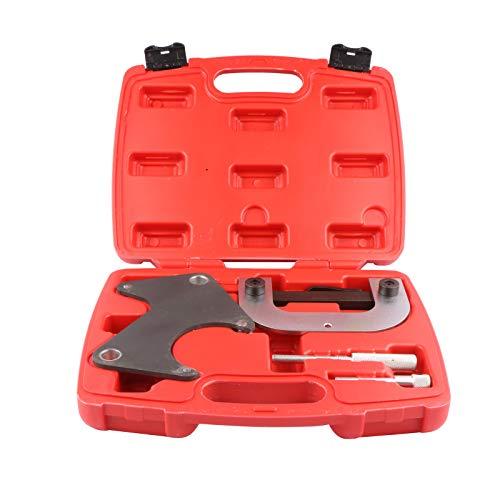 MOSTPLUS - Juego de herramientas de bloqueo de sincronización del cigüeñal del motor compatible con Clio Laguna Megane 1.4 1.6 16 V K4J K4M F4P F4R