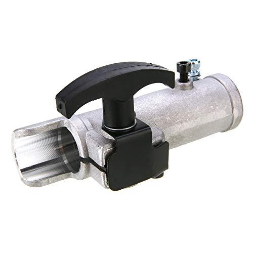 SHUGJAN Mayitr 26mm 9 Nutwellen Verbindungsstück for kreissäge Aluminiumlegierung Welle Steckerverbindungsklemme Trimmer Zubehör DIY Zubehör Hardware Reparaturwerkzeuge