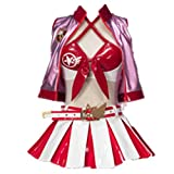 Noblecos The Irregular at Magic High School Cosplay Shiba Miyuki Costume Dress Halloween Outfit for Girls (Female S) Red
