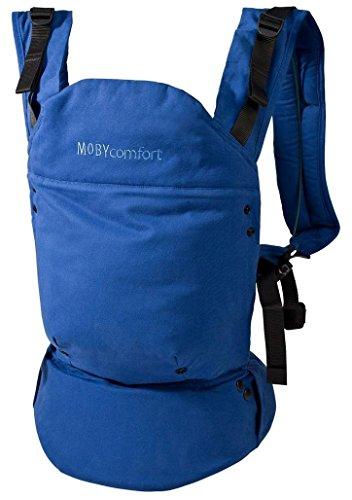 Moby Confort ergonomique bébé Carrier-blue (3 voies)