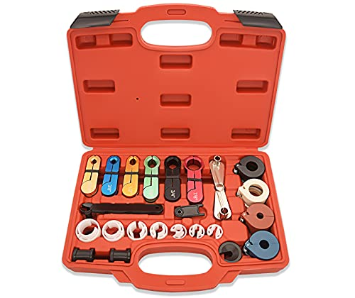 22pcs Master Quick Disconnect Tool Kit for Automotive AC Fuel Line and...