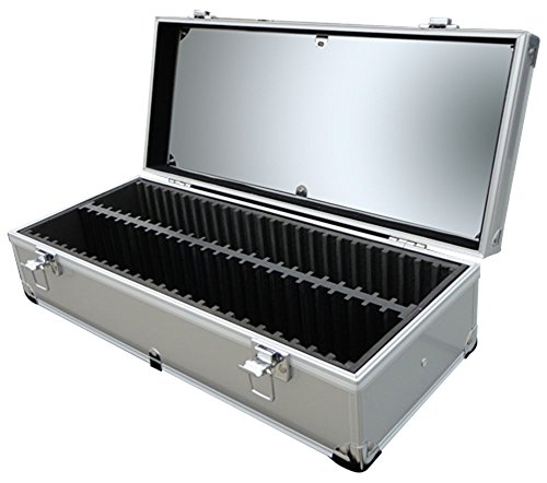 Aluminum Storage Box for 50 Universal Coin Slab Holders PCGS / NGC / Premier / Little Bear Elite Etc