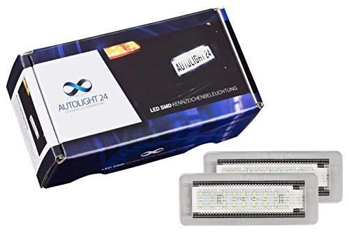 2 x Premium LED Kennzeichenbeleuchtung Kennzeichenleuchten KB40 450 451 W450 W451