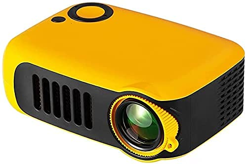 Nuevo Mini proyector A2000 320x240 píxeles 800 lúmenes Reproductor de Video Multimedia portátil LED para el hogar Altavoz Incorporado