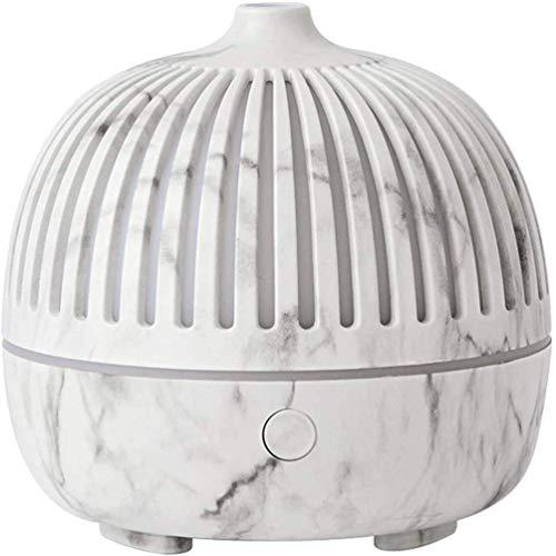 UWY Difusor de Aceite Esencial de 180 ml, humidificador difusor perfumado de aromaterapia para habitación, SPA, bebé con Luces LED cambiantes y Apagado automático sin Agua, B