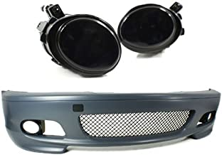 PROMOTORING For 00-06 BMW E46 3-SERIES 2DR M-TECH II STYLE FRONT BUMPER w/SMOKE FOG LIGHTS