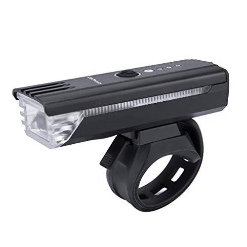 Team99 Bicicletas Bocina Linterna MTB Road Bike Front Lantern USB recargable LED Ciclismo Luz