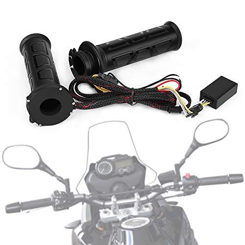 """22 mm (7/8"""") Puños de Manillar de Motocicleta, Puños Calefactables Eléctricos para Manillar, Empuñaduras Universales para Manillar de Moto, ATV, 1 Par"""