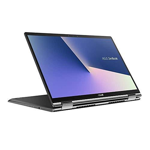 ASUS ZenBook Flip 13 UX362FA (90NB0JC1-M03670) 33,7 cm (13.3 Zoll, FHD, WV, Touch) Convertible (Intel Core i7-8565U, 8GB RAM, 256GB SSD, Intel UHD-Grafik 620, Windows 10) Gun Grey (Generalüberholt)