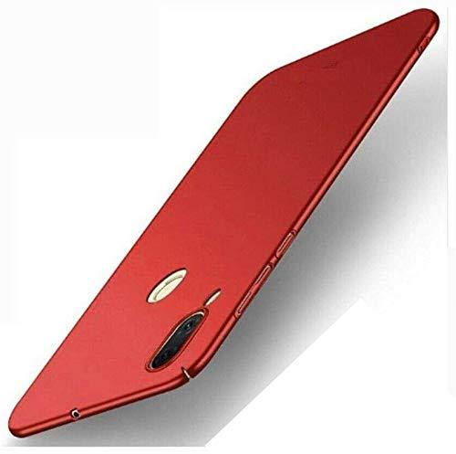 compatibile per ASUS ZENFONE MAX (M1) ZB555KL /Asus_X00PD schermo 5.5 copertura tasti CUSTODIA retro COVER CASE rigida ULTRA SLIM ARMOR (Rosso/bordo')