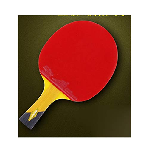 Fantastic Deal! HUIJUNWENTI Table Tennis Racket, Genuine Double-Sided Anti-Adhesive Racket, Professi...